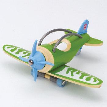 Hape plane houten speelgoed vliegtuig