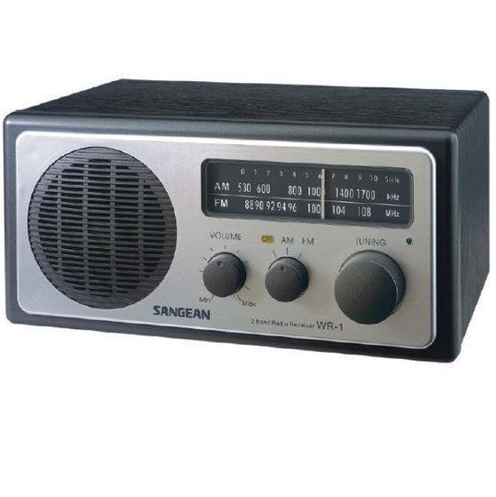 Sangean WR-1 - Tafel radio - Zwart