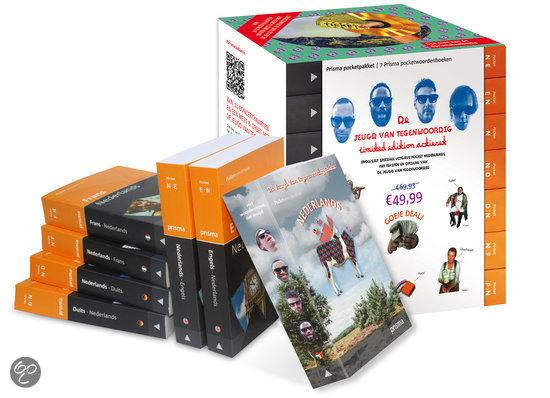 Prisma woordenboeken pocketpakket De Jeugd van Tegenwoordig-editie (7 titels)