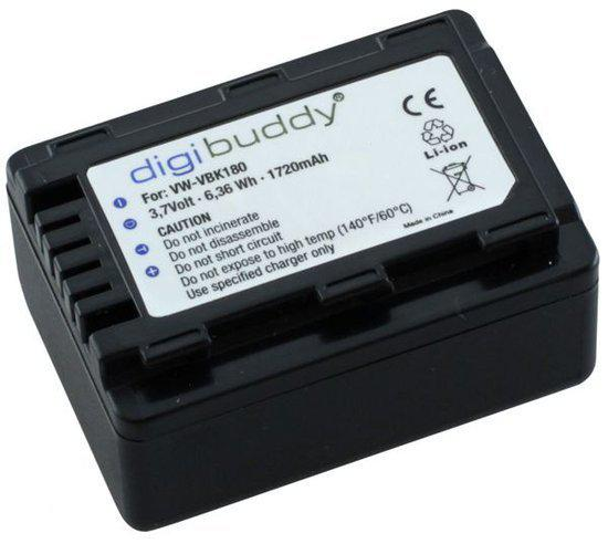 Digibuddy accu Panasonic VW-VBK180 in Vezin