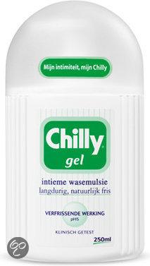 Chilly Gel Intieme Wasemulsie - 250 ml - Intiemverzorging Wasemulsie