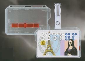 Kaarthouder type S5 - ID Bagdehouder - OV chipkaarthouder - Cardholder- Badgeholder - Oyster Card Holder - Oystercard case