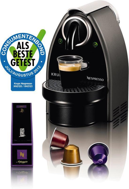 Krups Nespresso Apparaat Essenza Automatic XN2125 - Zilver