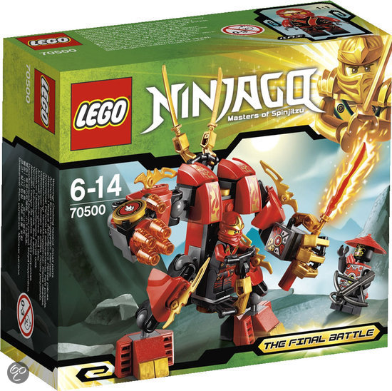 LEGO Ninjago Kai's Vuurrobot - 70500