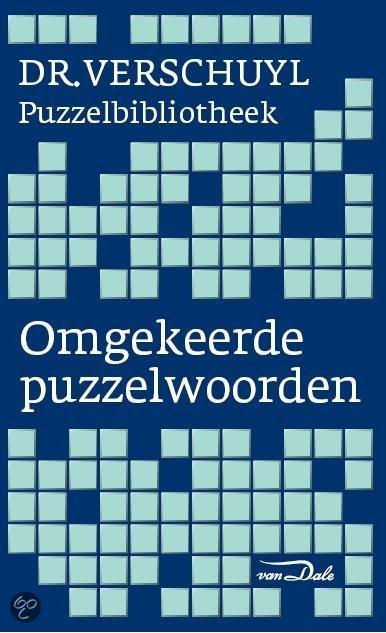 Van Dale Dr.Verschuyl Omgekeerd puzzelwoordenboek