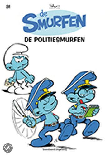 De Smurfen 31 De politiesmurfen