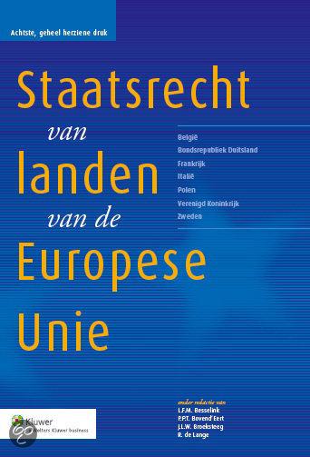 Het staatsrecht van landen van de Europese Unie