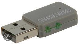 König, Draadloze Lan Adapter USB 300 Mbps