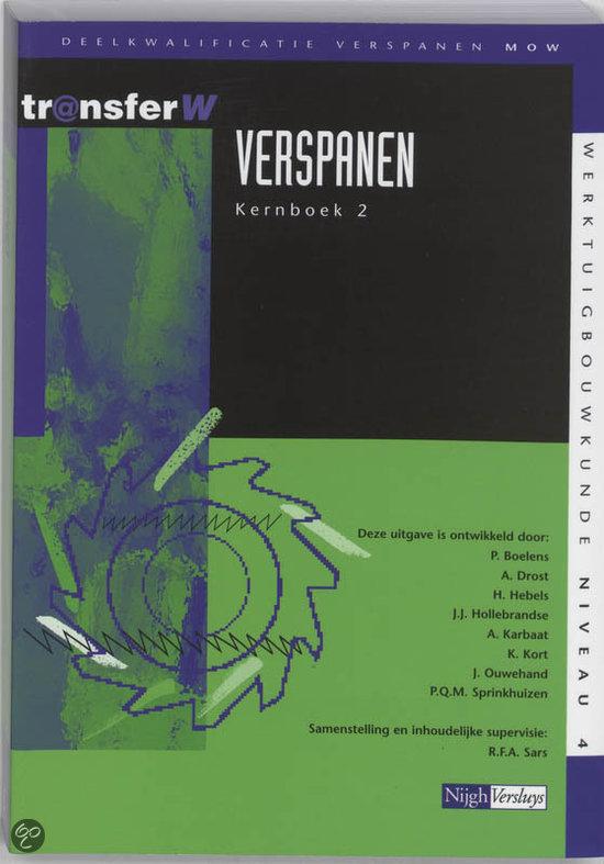 Verspanen / 2 / deel Tekstboek