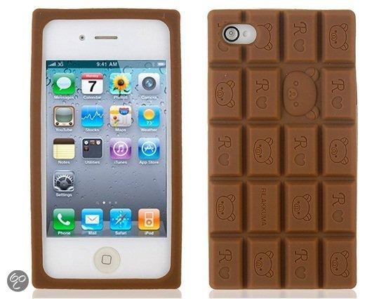 chocolade hoesje iphone 5