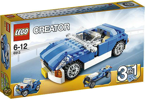 LEGO Creator Blauwe Sportwagen - 6913