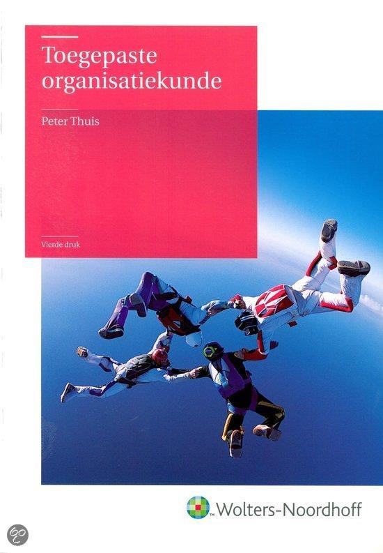 Toegepaste organisatiekunde / druk 4