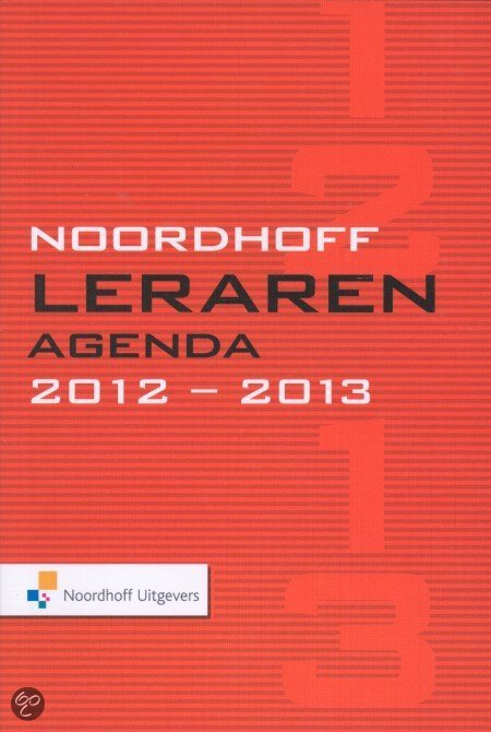 2012-2013 Noordhoff lerarenagenda
