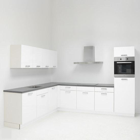 De zuiderster keukens keukenmeubel nolte lux 02 keuken incl etna apparatuur wit hoog - Afbeelding van keuken amenagee ...