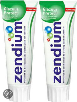 Zendium Glazuur Protect - 2x 75 ml - Tandpasta