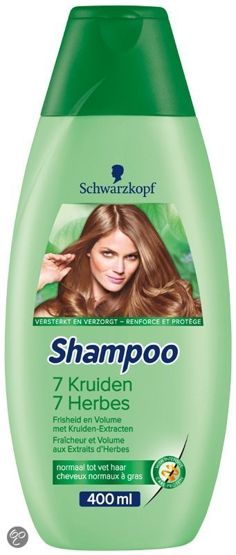 Schwarzkopf 7 Kruiden - 400 ml - Shampoo