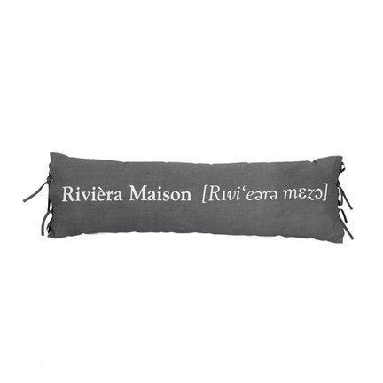 bolcom sierkussen riviera maison outspoken antraciet