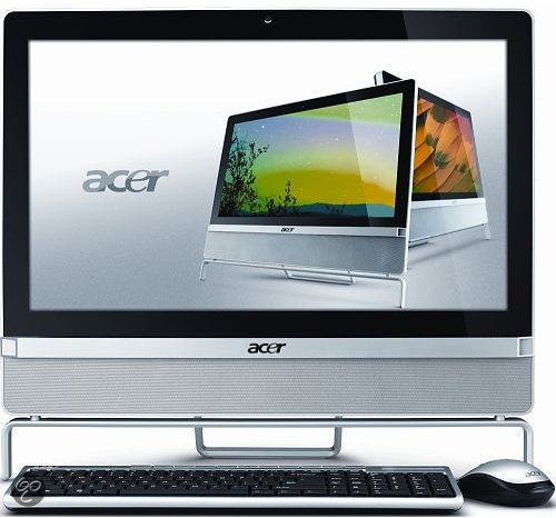 Acer Aspire Z3801-H61 - Intel i3-2120 3.3 GHz / 6GB DDR3 RAM / 500GB HDD / 21.5 inch / QWERTY