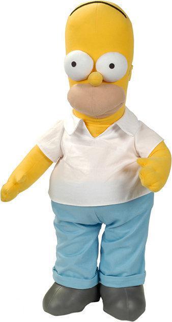 The simpsons knuffel homer simpson 40cm - Homer simpson nu ...
