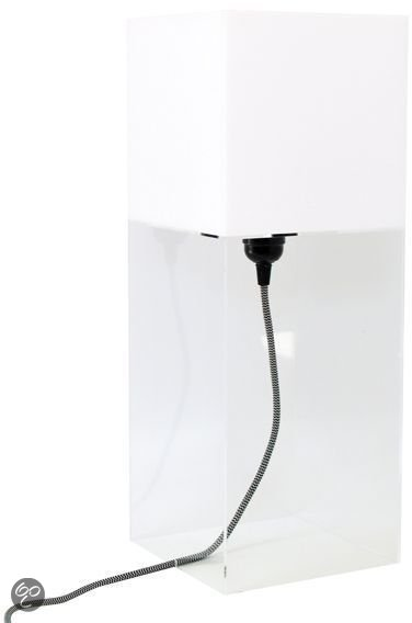 HK Living Plexi table lamp L - Wit