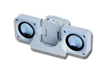 Gembird Draagbare en uitklapbare MP3 speakers