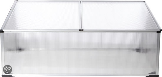 bol.com | Kweekbak,100x60x40cm, aluminium frame met polycarbonaat platen