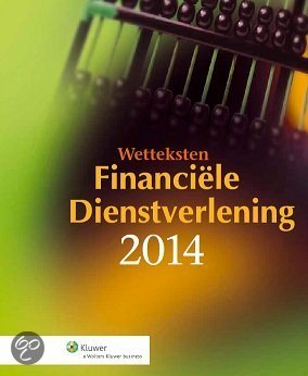 Wetteksten financiele dienstverlening / 2014