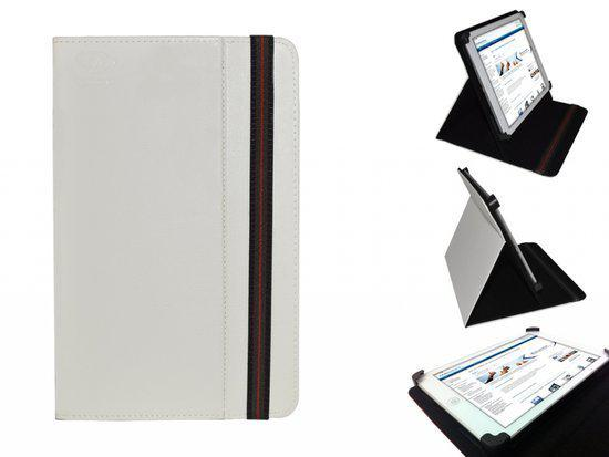 Kindle Fire Hdx 8.9 Cover, Handige Standen Hoes, Multi-stand Case, Kleur Wit, merk i12Cover in Hertme