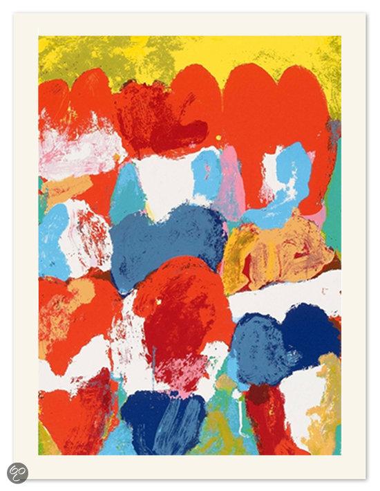 bol.com : Jan Cremer Schilderij Zeefdruk u0026#39;Tulipes de Sudu0026#39; (geel) 2003
