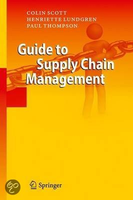 Guide to Supply Chain Management