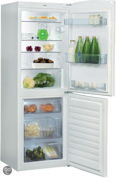 Whirlpool koelkast temperatuur instellen