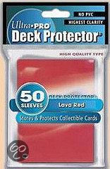 Afbeelding van het spel Standaard Deck protector Sleeves Red (50st)