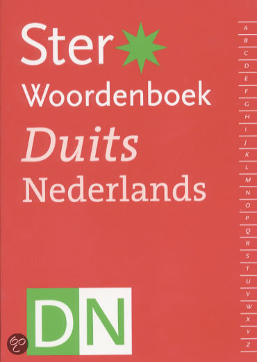 Ster Woordenboek Duits-Nederlands