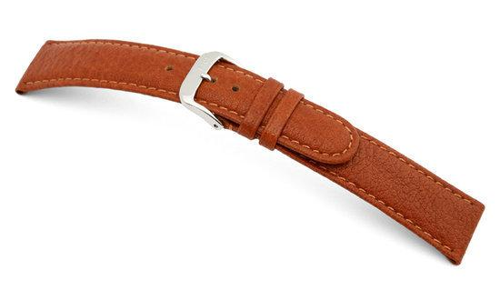 Rios1931 Horlogeband -  Texas Cognac - Leer - 18 mm