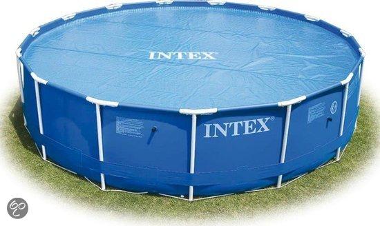 Intex zwembad afdekzeil solar 305 cm speelgoed for Zwembad afdekzeil