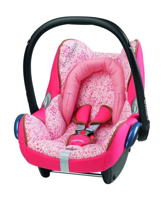 Bol Com Maxi Cosi Cabriofix Autostoel Leopard Pink