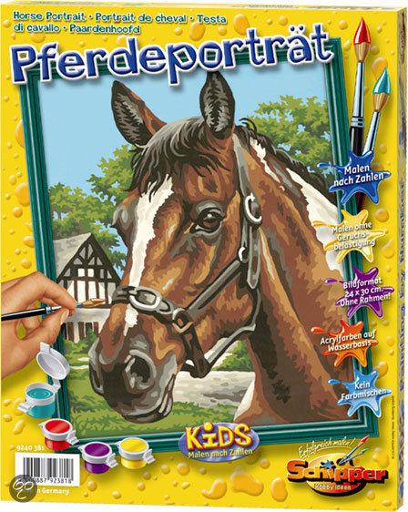 Schilderen op Nummer - Paardenportret
