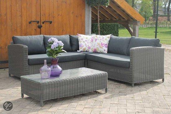 Lounge Hoekbank Buiten : Tuin hoekbank tuin en terras loungeset aanbieding rond wicker