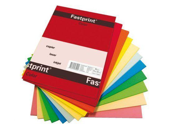 gekleurd papier a4 160gr fp assorti kleur 50vel