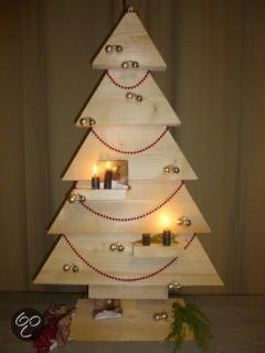 Xsteigerhout.nl - Kerstboom van steigerhout - bouwpakket