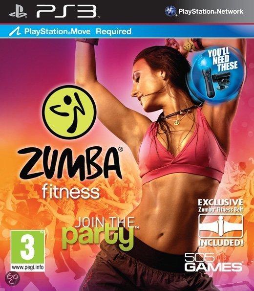 Zumba Fitness + Belt (PlayStation Move)