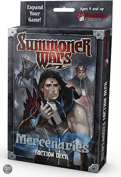 Afbeelding van het spel Summoner Wars Mercenaries faction deck