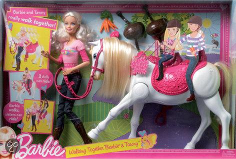 Bol Com Barbie Paardrijden Mattel Speelgoed