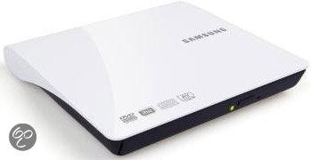 Samsung SE-208AB/TSWS Slim External DVD Writer 8x - Wit