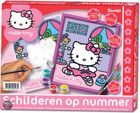 Schilderen Op Nummer - Hello Kitty