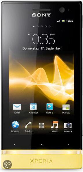 Sony Xperia U - Geel