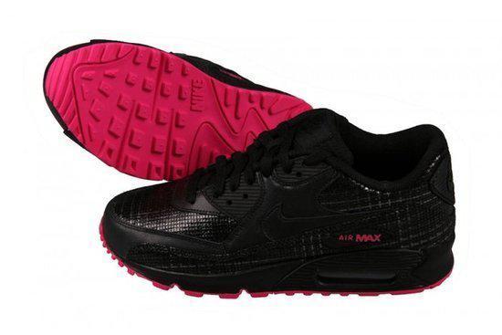 Nike Air max 90 dames sneaker zwart roze maat 44,5