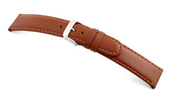 Rios1931 Horlogeband -  Arizona Cognac - Leer - 18 mm
