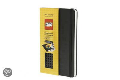 Moleskine Limited Edition Lego Black Brick Ruled Large Notebook