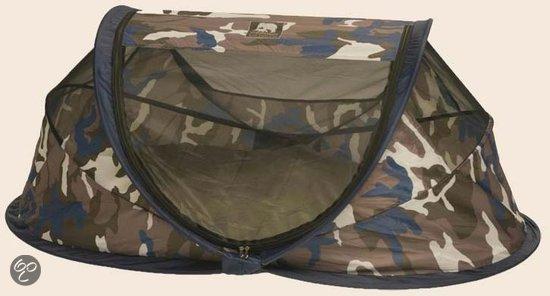 bol.com | Deryan Baby Luxe - Campingbedje - Camouflage Blauw